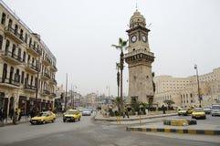 Bab Al Faraj Clock Tower - Aleppo - Síria fotos de stock