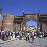 Bab al Yemen, Sana'a Stock Images