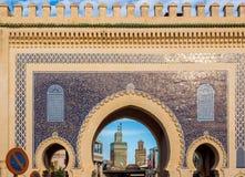 Bab Bou Jeloud. Fez El Bali Medina. Fez, Morocco. Africa. Royalty Free Stock Images