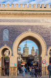 Bab Bou Jeloud. Fez El Bali Medina. Fez, Morocco. Africa. Stock Photos