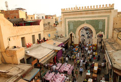 Bab Bou Jeloud gate Royalty Free Stock Photography