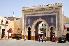 Bab Bou Jeloud gate Stock Images