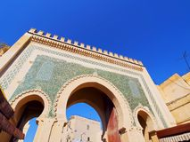 Bab Boujelud Gate in Fes, Morocco Royalty Free Stock Images