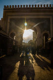 Bab Boujloud Blue Gate a Fes, Marocco Fotografie Stock Libere da Diritti