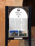 Bab Boujloud Sign stockbilder
