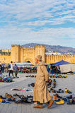 Bab Chorfa gate. Fez El Bali Medina. Morocco. Stock Photo