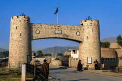 Bab e Khyber Пакистан стоковые фотографии rf