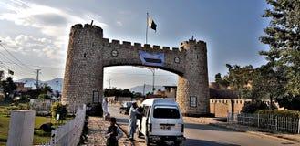 Bab-e- Khyber arkivfoton
