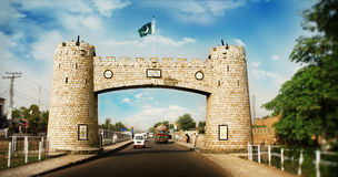 Bab-e-Khyber Stockfotografie