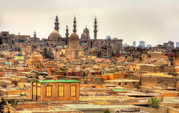 Bab El-Wazir cemetery in Cairo Royalty Free Stock Photo