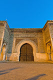 Bab Jama en Nouar door at Meknes, Morocco Stock Photos