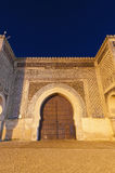Bab Jama en Nouar door at Meknes, Morocco Stock Photography