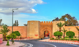 Bab Laarissa or Bab Er-Raha, one of gates of Marrakesh, Morocco. Bab Laarissa or Bab Er-Raha, one of gates of Marrakesh in Morocco Stock Image