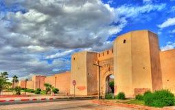 Bab Laarissa or Bab Er-Raha, one of gates of Marrakesh, Morocco. Bab Laarissa or Bab Er-Raha, one of gates of Marrakesh in Morocco Royalty Free Stock Photography