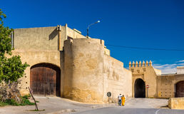 Bab Lahdid, a gate of Fes, Morocco Royalty Free Stock Images