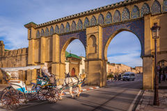 Bab Moulay Ismail, Meknes Photos stock