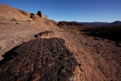Bab n'Ali, Djebel Saghro (Maroc) Photographie stock libre de droits