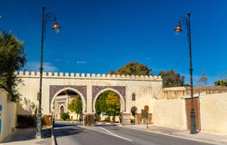 Bab Riafa, a gate of Fes, Morocco Stock Images