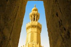 Bab Zuweila Minaret Royaltyfri Fotografi