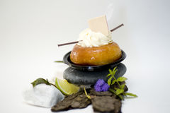 Baba au rhum Royalty Free Stock Photography