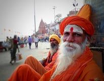 Baba of Banaras stock images