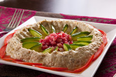 Baba ghanoush Stock Image
