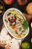 Baba ghanoush, eggplant dip Stock Image