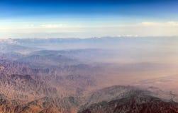The Baba Mountain range of the Hindu Kush between Kabul and Kand Royalty Free Stock Photos