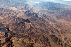 The Baba Mountain range of the Hindu Kush between Kabul and Kandahar Royalty Free Stock Photography