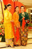 Baba nyonya costumes Stock Photo
