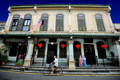 The Baba & Nyonya House Museum Royalty Free Stock Images