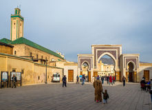 Baba Rcif brama Fez El Bali Medina fez Morocco africa Zdjęcia Royalty Free