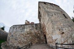 Baba Vida, eine mittelalterliche Festung in Vidin, in nordwestlichem Bulgarien lizenzfreies stockbild