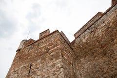 Baba Vida, eine mittelalterliche Festung in Vidin, in nordwestlichem Bulgarien lizenzfreie stockfotografie