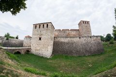 Baba Vida, eine mittelalterliche Festung in Vidin, in nordwestlichem Bulgarien stockbilder