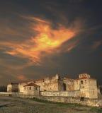 Baba Vida-Festung, Bulgarien Stockbilder
