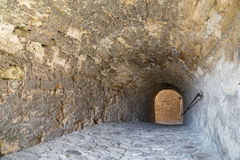 Baba Vida Fortress nach innen Stockfotos