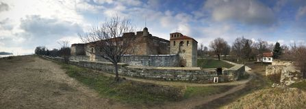 Baba Vida Fortress, Vidin, Bulgária Fotografia de Stock Royalty Free