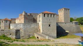 Baba Vida Fortress In Vidin, Bulgaria fotografia stock