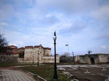 Baba Vida Fortress, Vidin, Bulgaria. Ancient fortress Baba Vida located in Vidin, Bulgaria. January 2018 Royalty Free Stock Image