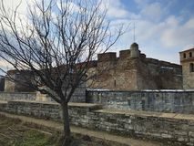 Baba Vida Fortress, Vidin, Bulgaria. Ancient fortress Baba Vida located in Vidin, Bulgaria. January 2018 Royalty Free Stock Images