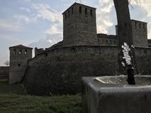 Baba Vida Fortress, Vidin, Bulgarie photo stock