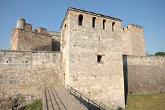 Baba Vida Fortress In Vidin, Bulgarie photos stock
