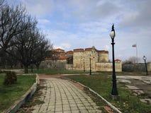 Baba Vida Fortress Vidin, Bulgarien royaltyfri bild