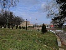Baba Vida Fortress Vidin, Bulgarien arkivbilder