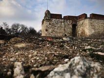 Baba Vida Fortress Vidin, Bulgarien royaltyfria foton