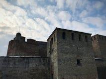 Baba Vida Fortress Vidin, Bulgarien royaltyfri foto