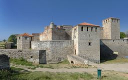Baba Vida Fortress In Vidin Bulgarien fotografering för bildbyråer