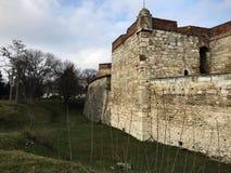 Baba Vida Fortress, Vidin, Bulgarije Stock Foto's