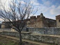 Baba Vida Fortress, Vidin, Bulgarije Royalty-vrije Stock Afbeeldingen